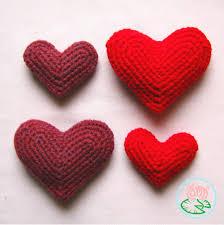 Crochet Heart Pattern Free Custom Free Pattern Crocheted Heart Toma Creations
