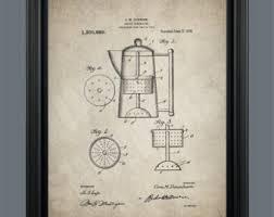 vintage percolator vintage coffee percolator patent print instant ready to print 010
