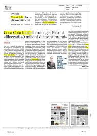 Press Clippings Winter break by Coca-Cola HBC Italia - issuu