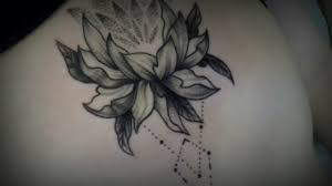 татуировка лотос випшейдинг процесс и результат Tattoo Lotus