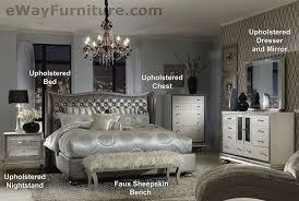 inspiring upholstered king bedroom set metallic graphite king for small home tips