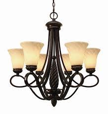 torbellino 6 light chandelier