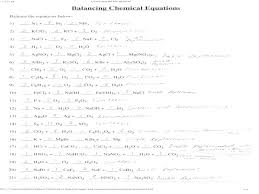 worksheets recommendations balancing equations worksheet answers simple chemical pdf balance