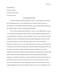 observation essay sample co observation essay sample