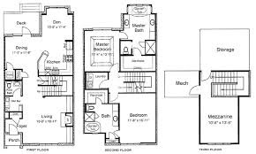 Exceptional Three Story House Plans Part  2 Three Story Floor Three Story Floor Plans
