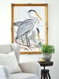 heron wall art great blue heron wall art