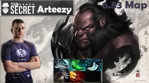 arteezy secret axe pro gameplay 6700 mmr dota 2 new 6 83