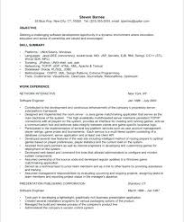 Objective In Resume For Software Developer