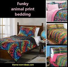 wild animal print bedroom decor