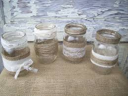 ... burlap; 1000 Ideas About Lace Mason Jars On Pinterest Decorating Mason  Photo Details - From these gallerie