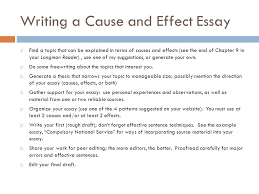 analyzing causes and effects ppt video online writing a cause and effect essay