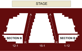 Everett Performing Arts Center Everett Wa Seating Chart