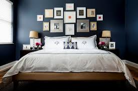 Tagged Bedroom Ideas Dark Colours Archives House Design And - Dark blue bedroom