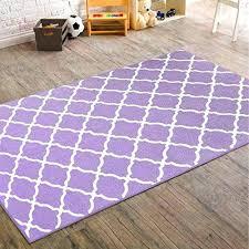 girls area rug x girls purple color trellis diamond pattern area rug indoor kids geometric square girls area rug