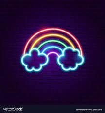 Rainbow Neon Aesthetic Wallpapers - Top ...