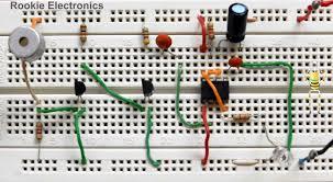 clap switch circuit rookie electronics electronics robotics did
