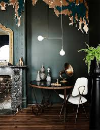 how to style a home with dark wood floors