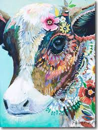 cow painting on canvas cow oil painting on canvas wall pictures paintings for templates