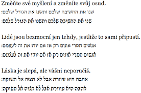 Překlad Vět Do Hebrejštiny Blog Idnescz