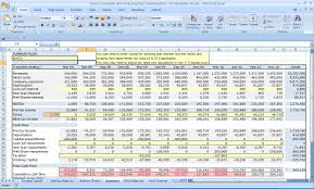 financial planner template financial plan for startup business