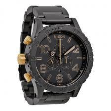 nixon 51 30 chrono graph matte black analog men s watch a0831041 nixon 51 30 chrono graph matte black analog men s watch a0831041