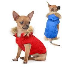 Winter <b>Dog</b> Coat <b>Hoodies Pet</b> Clothes Warm <b>Dogs Cat Puppy</b> Down ...