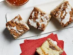We start with a classic sour cream coffee cake recipe, but we've mixed things up a little with the streusel topping! Sour Cream Coffee Cake Recipe Ina Garten Food Network