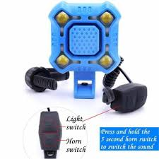 Bicycle 140 DB Electronic Horn Light <b>Bike Headlight Taillight USB</b> ...