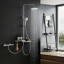 Details Zu Thermostat Duschsystem Regendusche Duschkopf Handbrause Wannenarmatur Duschset