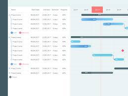gantt charts gantt chart designs on dribbble