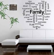 impressive design word wall art family heart vinyl e sticker decal love laugh montage home canvas decor generator