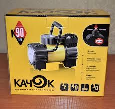 Обзор на Автомобильный <b>компрессор КАЧОК K90 Led</b>