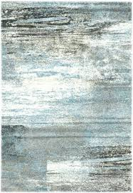 light blue gray area rug and grey