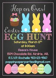 Printable Custom Easter Invitation Easter By
