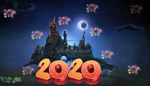 Happy New Year 2020 3D Wallpaper (Page ...