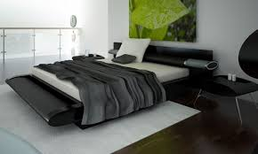 super modern furniture. Bedroom. Breathtaking Super Modern Bedroom Furniture Ideas Performing Black Futuristic Bed With Cleanly White P