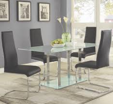 geneva table and chair set by coaster gl dining