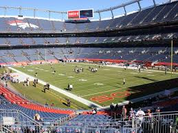Denver Invesco Field Seating Chart Denver Broncos Field Plaza Level End Zone