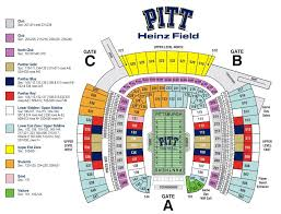 Pittsburgh Penguins Interactive Seating Chart Heinz Field Seating Chart