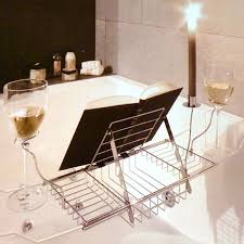 bathroom tub shelf caddy bathtub wine holder wine glass tray beautiful shelf for bathtub
