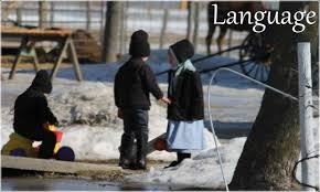 what language do the amish speak  related articles to what language do the amish speak