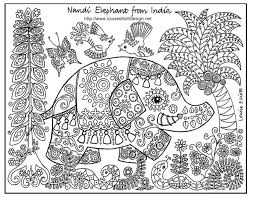Small Picture Detailed Coloring Pages for Adults Enjoy Coloring Adult