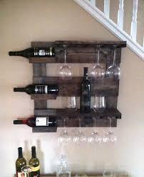 Rustic wine rack table Reclaimed Wood Wall Wine Rack Rustic Reclaimed Wood Wall For Etsy Rustic Wine Rack Birtansogutmacom