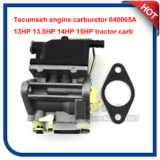 Tecumseh engine carburetor 640065A 13HP 13.5HP 14HP 15HP tractor ...