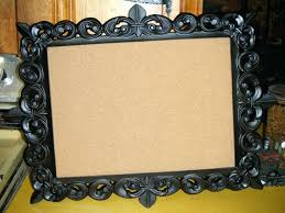 decorative framed cork board for awesome extra large and boards walls