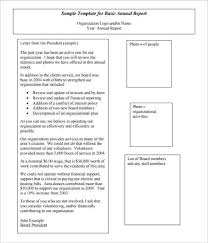 annual financial statement template non profit financial statement template free and excel