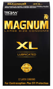 Magnum Xl Size Chart Extra Large Condoms Magnum Xl Lubricated Condoms