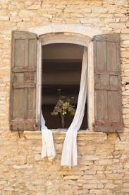 open window from outside. Wonderful Open 2007  Provence France Dry Flowers On A Window Sill An Old Stone House  The Curtains Blowned From Wind  Donu0027t Know If Dweller Intended To H Inside Open Window From Outside N