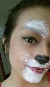 but possible white rabbit makeup costumes