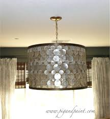 diy chandelier lamp shades lighting great how to make chandelier shades your house idea drum lamp diy chandelier lamp shades